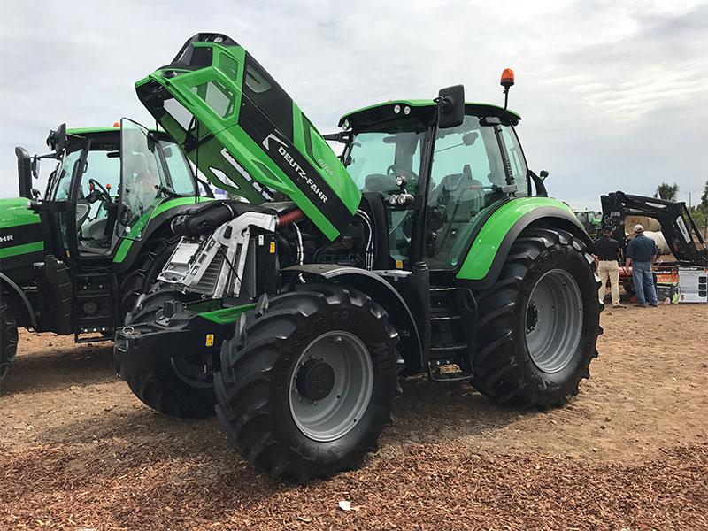 The Deutz-Fahr 6165 RC-Shift tractor