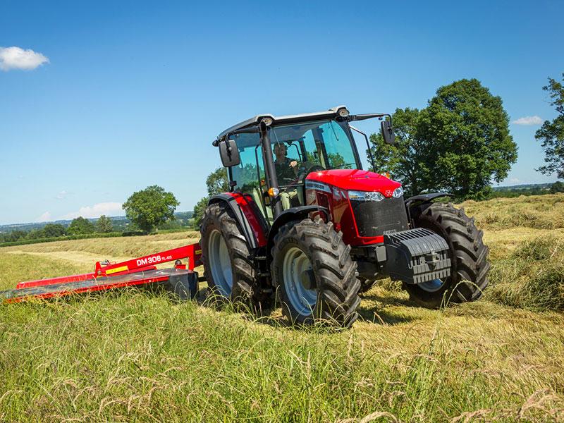 The new Massey Ferguson 6713 tractor