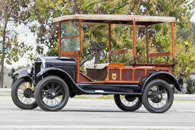 Shelby -Bonhams -auction -Model -T