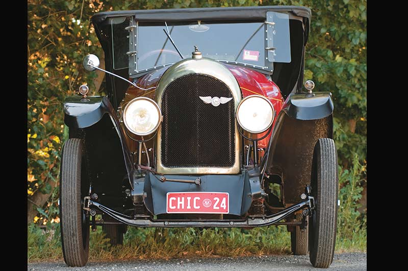 Chic -car -front