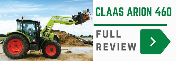 Claas Arion 460 review