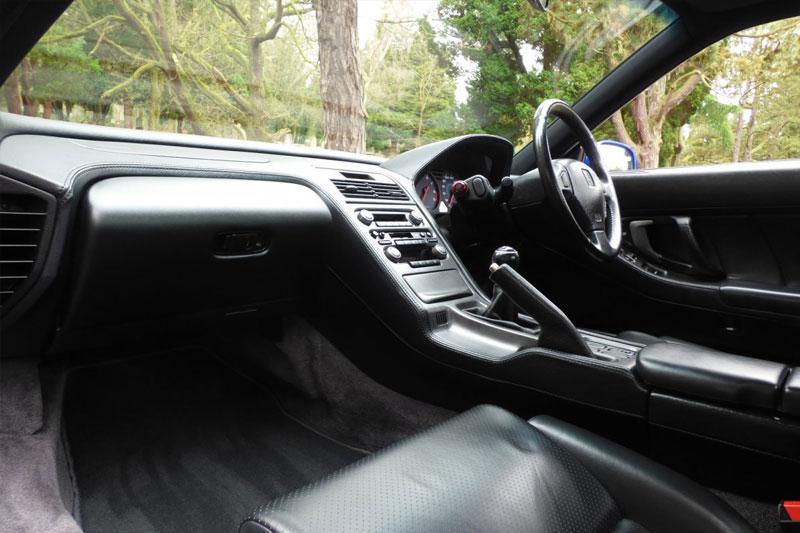Honda -NSX-Jenson -Button -interior