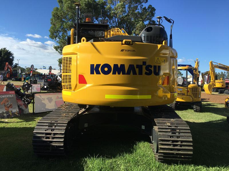 Komatsu -PC228US-8-excavator