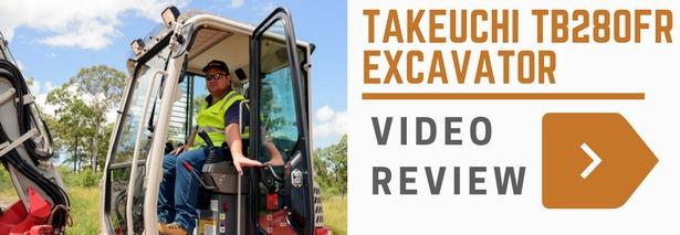 Takeuchi TB280FR Video Review