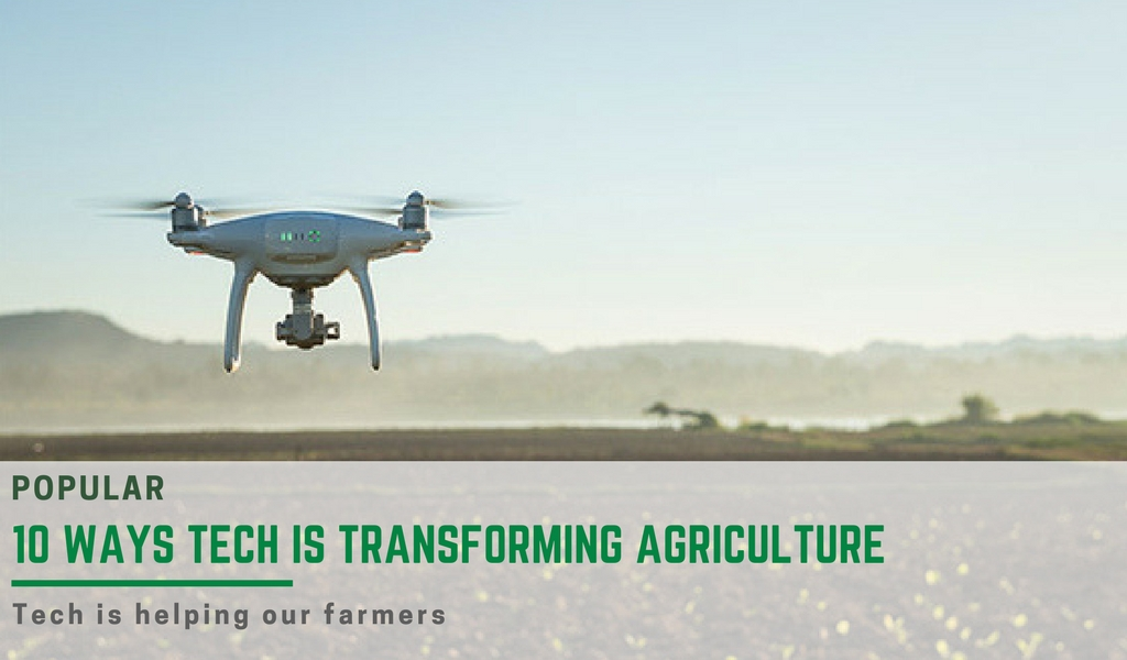 ten ways technology is transforming agriculture