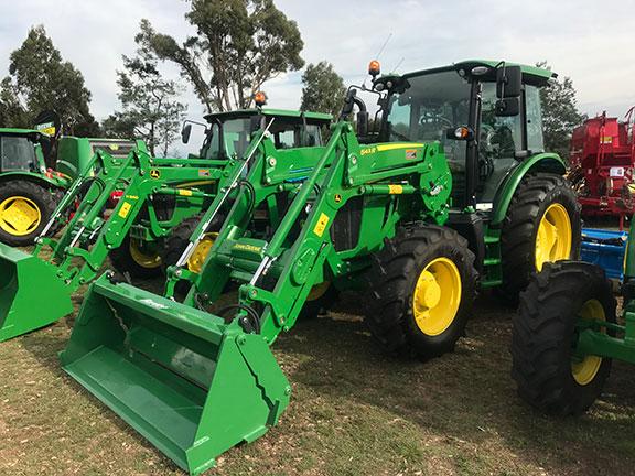 The John Deere 5100R tractor