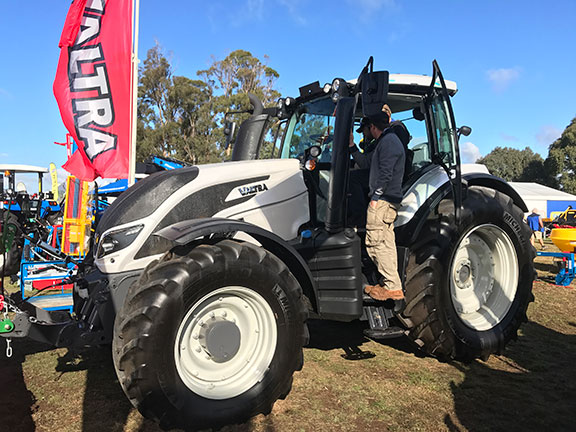 The Valtra T234 tractor