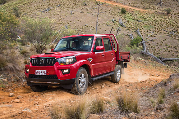 The Pik-Up is more than handy in the paddock or anywhere where you need a 4WD