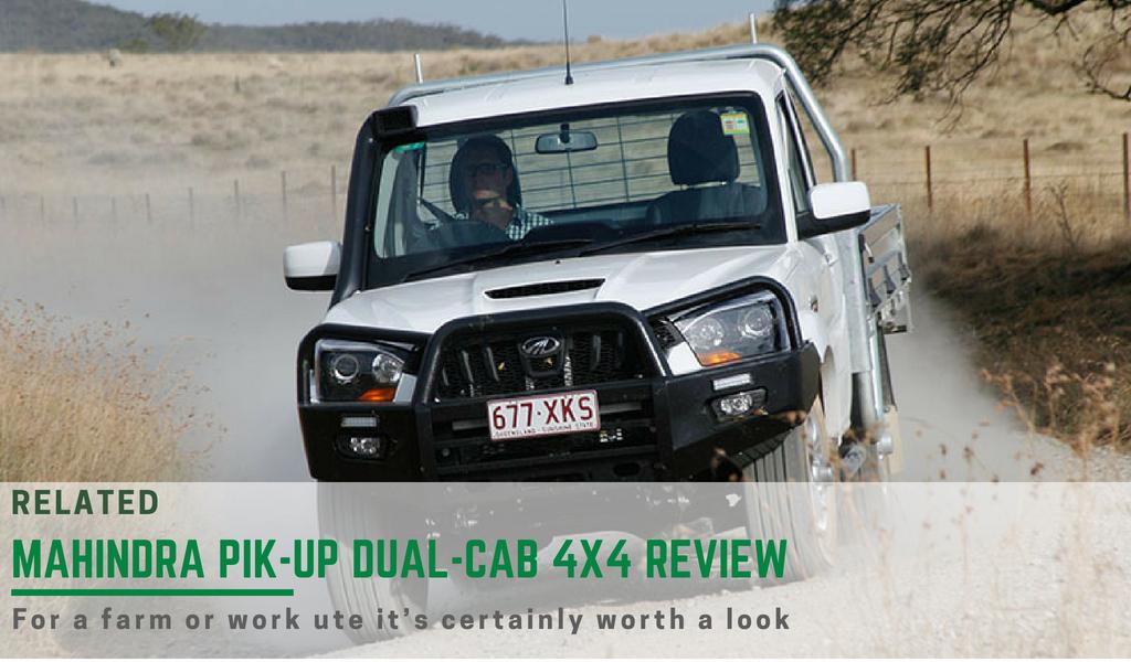 The Mahindra Pik-Up single cab review
