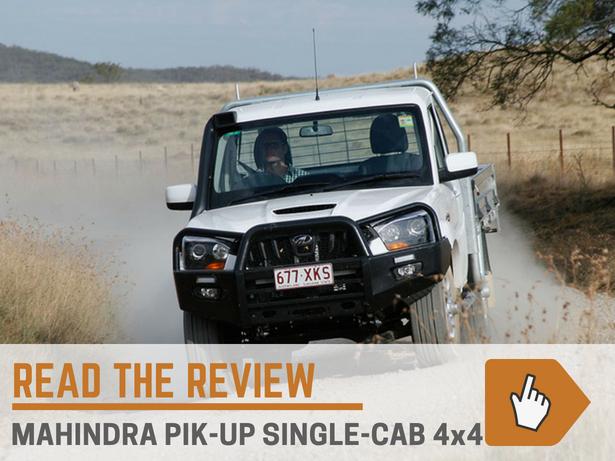 Mahindra Pik Up Single Cab
