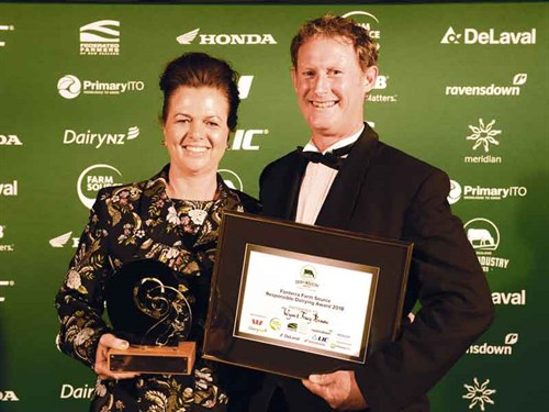 Fonterra -Farm -Source -Responsible -Dairying -Award ---Wynn -and -Tracy -Brown