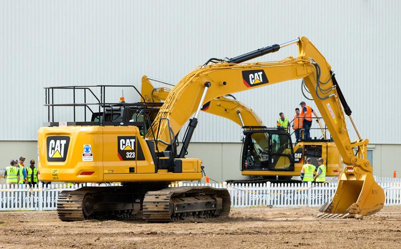 Cat -next -gen -excavator -launch