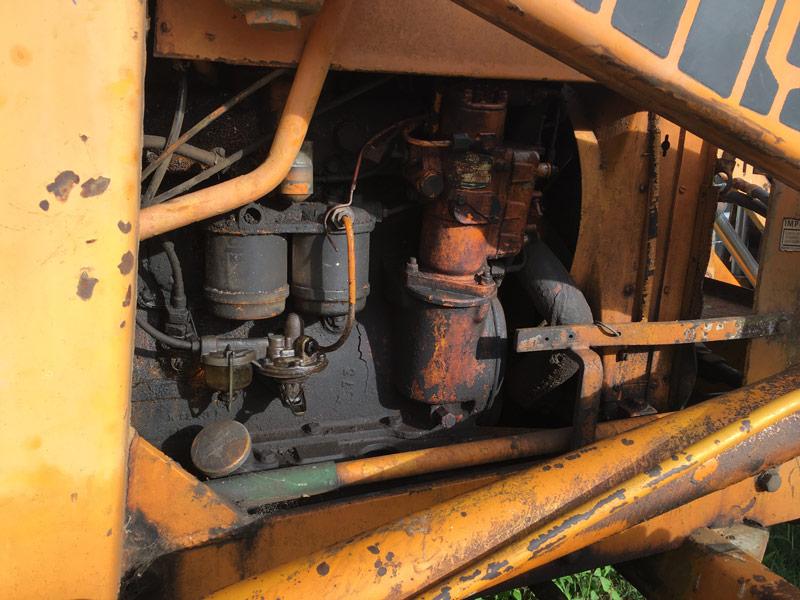 Case -360B-backhoe -loader