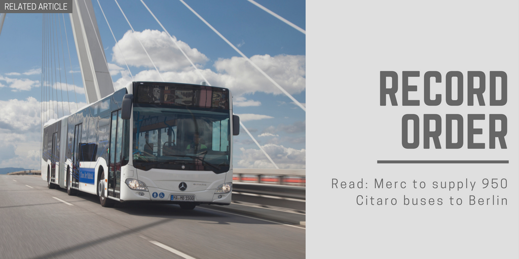 Related article: Merc to supply 950 Citaro buses to Berlin