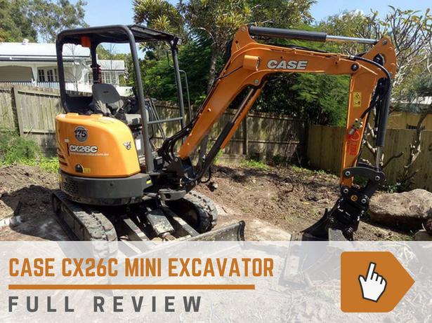Case CX26C Mini Excavator