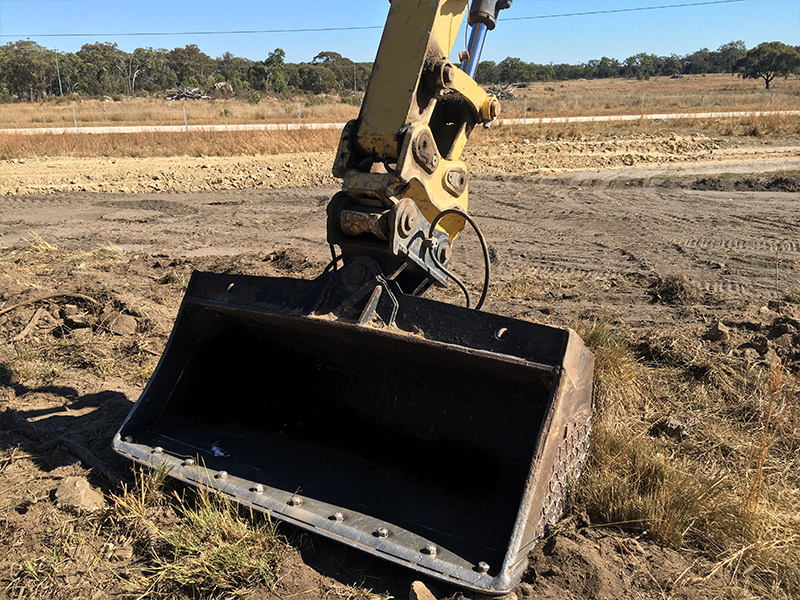 The Boss Attachments Bucket Proved A Touch Large For This Machine2