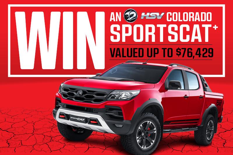 Win a HSV Sportscat+