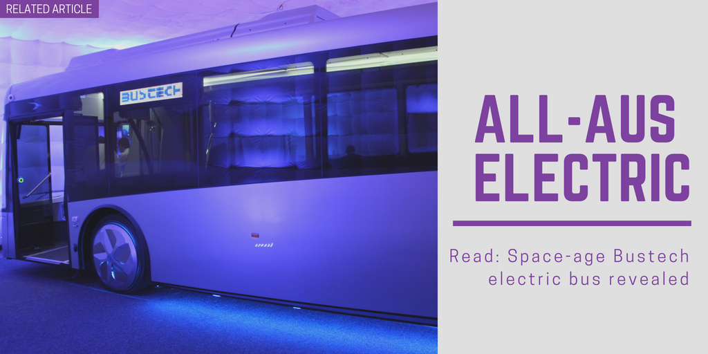 Related article: Space-age Bustech electric bus revealed