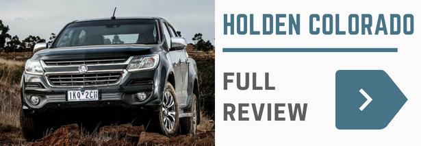 Holden Colorado Review