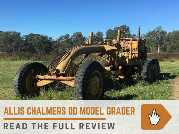 Allis Chalmers DD Grader