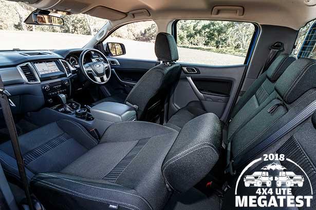 Ford -Ranger -interior