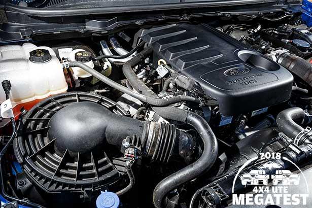 Ford -Ranger -engine -bay