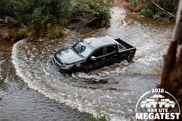 Holden -Colorado -off -road -in -water