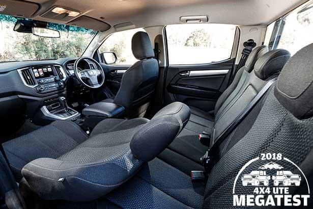 Holden -Colorado -interior