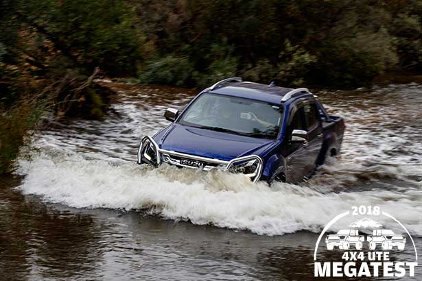 Isuzu -D-Max -off -road -in -water