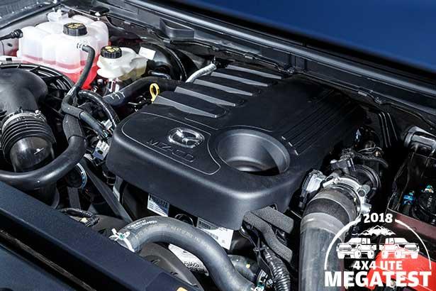 Mazda -BT-50-engine -bay