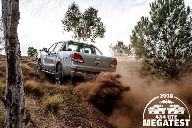 Mazda -BT-50-off -road