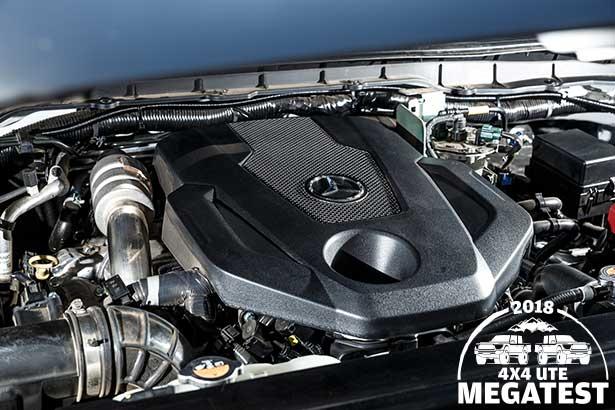 Mercedes -benz -x 250d -engine -bay