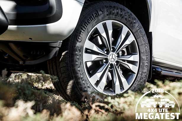 Mercedes -benz -x 250d -wheel