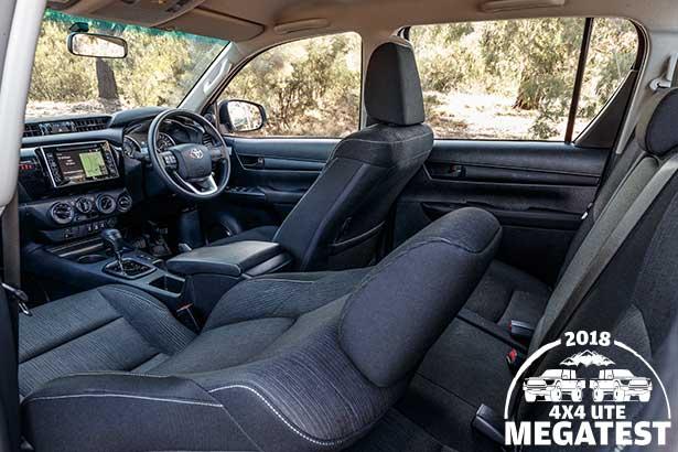 Toyota -Hilux -interior