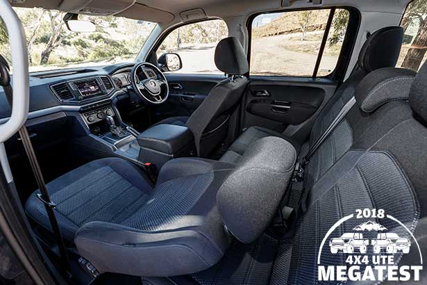 Volkswagen -Amarok -interior