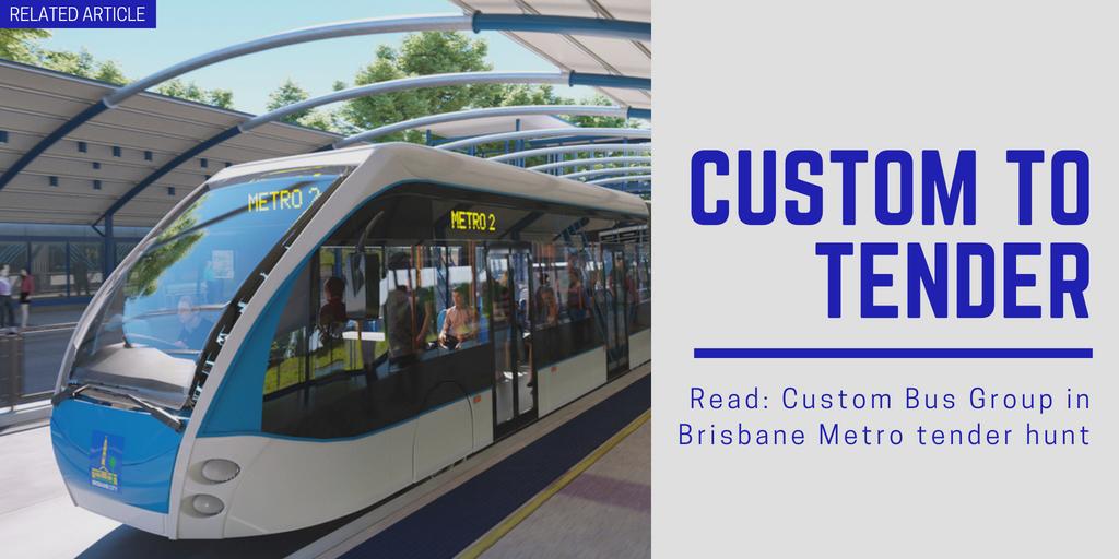Related article: Custom Bus Group in Brisbane Metro tender hunt