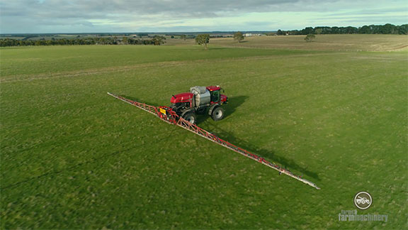 The Patriot 4430 with its boom extended