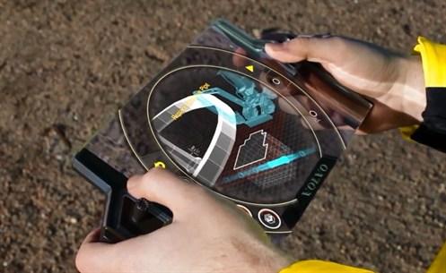 Volvo Gaia X Tablet