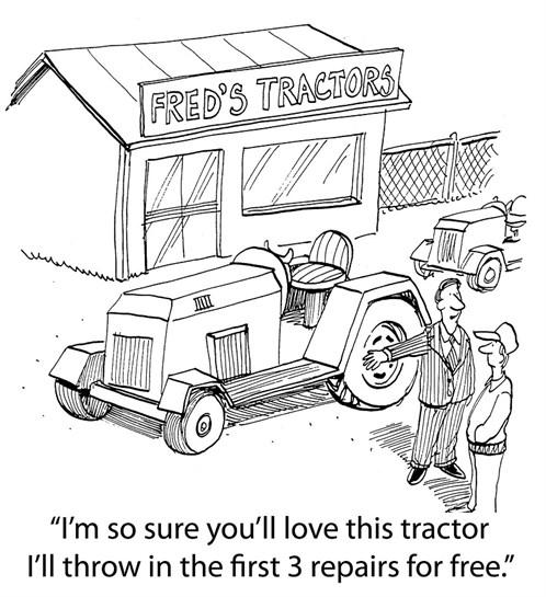 Tractor Salesman