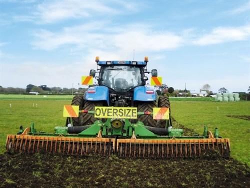 New Holland T6080 Elite Tractor Back