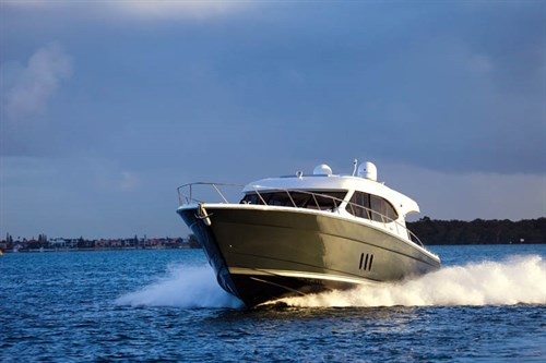 MARITIMO S58 ON THE WATER