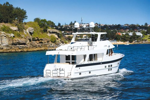 Outer Reef Yachts 630 underway