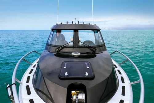 Layout on White Pointer Boats 8m